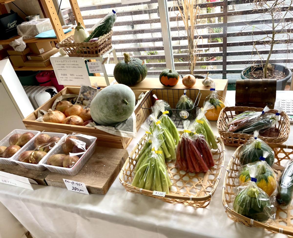 無農薬野菜マーケット